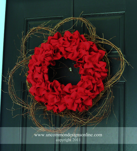 Burlap Red Wreath Uncommon 2011