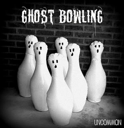 DIY Ghost Bowling Game