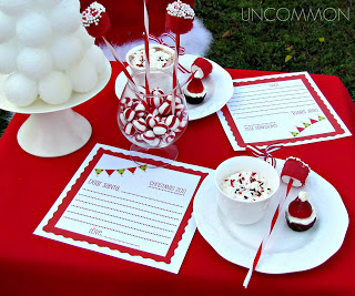 letter to santa party