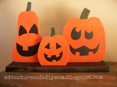 Reversible Bead Board Pumpkins