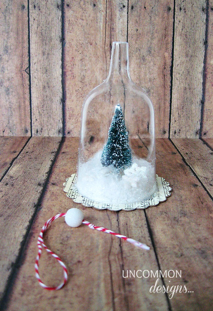 Bell Jar Christmas Ornament