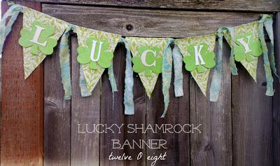 St. Patrick's Day-Lucky-Shamrock-Banner