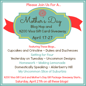 Mother's day Blog Hop 300 x 300