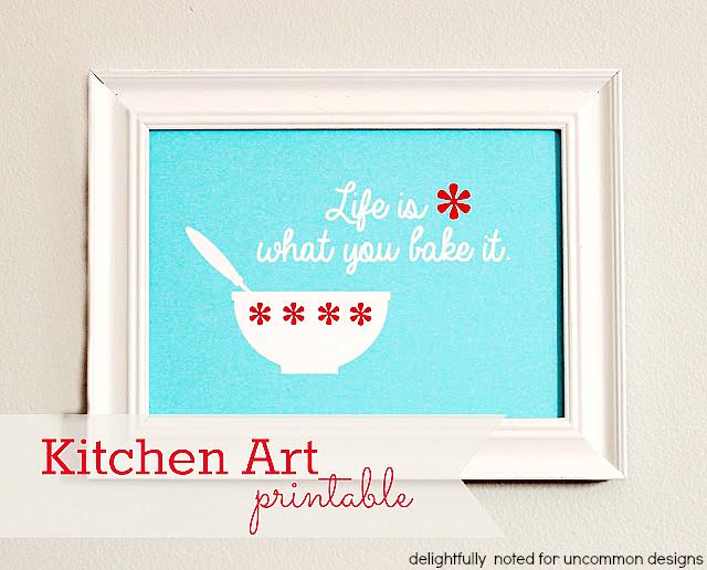 kitchen art printable