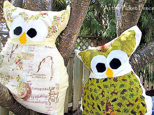 owl pillow craft