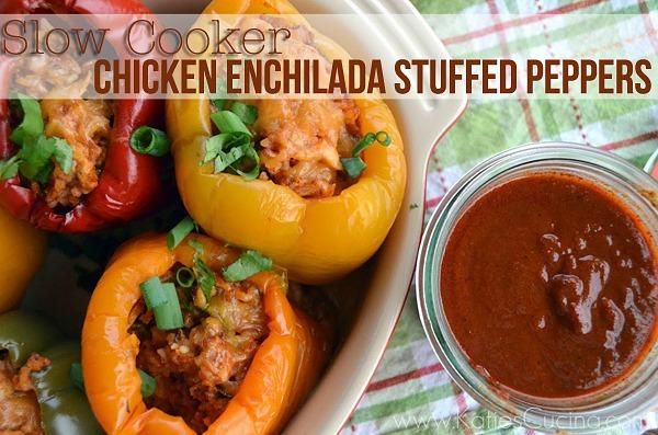 Slow_Cooker_Chicken-Enchilada-Stuffed-Peppers_KatiesCucina