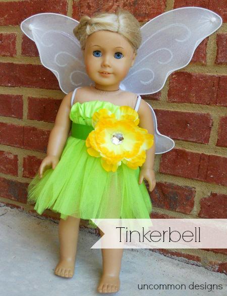american girl tinkerbell costume