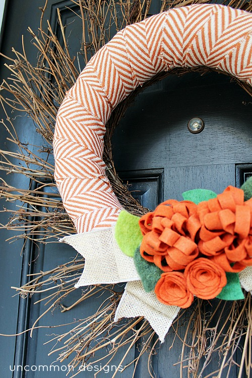 Chevron_fabric_fall_wreath
