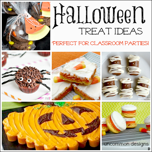 halloween classroom treat ideas