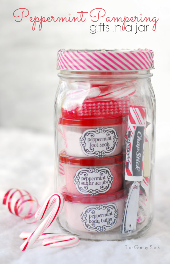 peppermint pampering gift