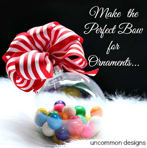 Perfect Ornament Bows