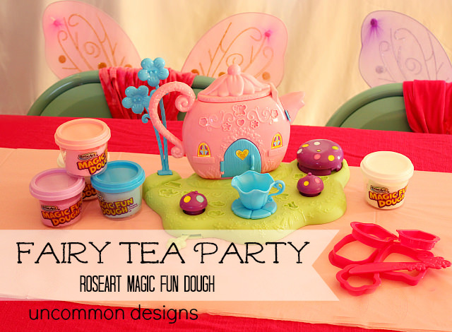 RoseArt Magic Fun Dough Fairy Tea Party