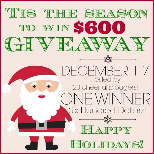 Tis The Season For Cheer $600 Visa Gift Card Giveaway! Enter via www.uncommondesignsonline.com #giveaway #christmas #holidayshopping