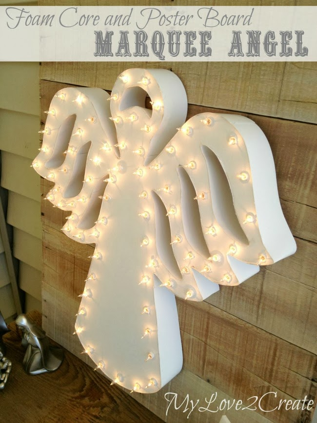 Marquee Angel. Monday Funday link party feature.