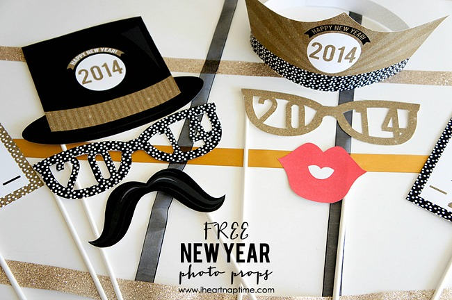 New-years-photo-booth-props-printables