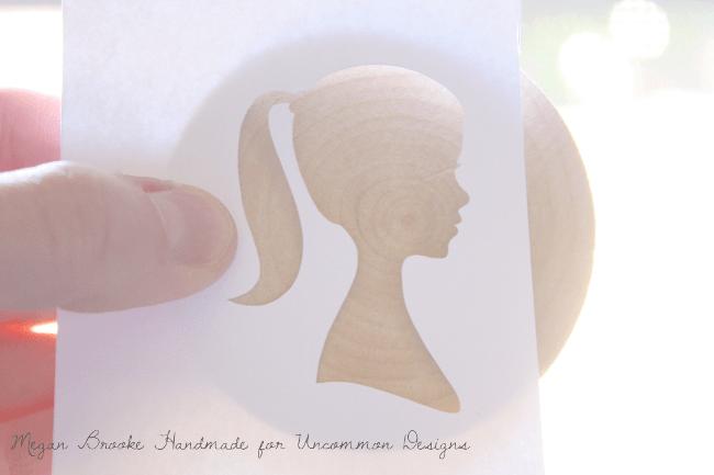 DIY Silhouette Wedding Cake Toppers  www.uncommondesignsonline.com #wedding #diywedding #handmadewedding