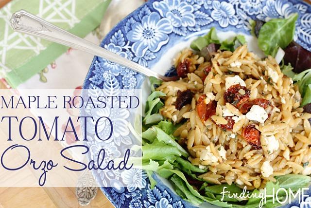 Maple-Roasted-Tomato-Orzo-Salad-Recipe-FindingHome