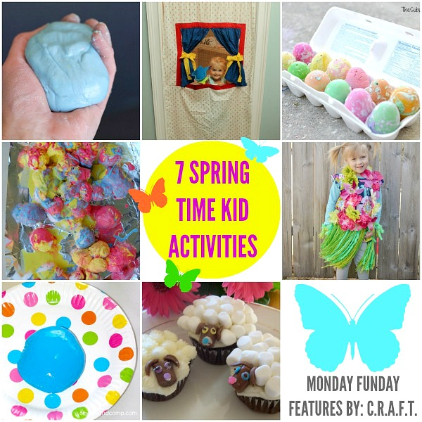 7 Springtime Kid's Activities and Crafts from #mondayfundayparty #linkparty #linkpartyfeatures