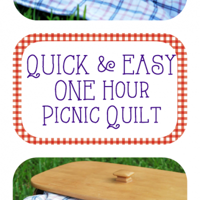 Quick and Easy One Hour Picnic Quilt