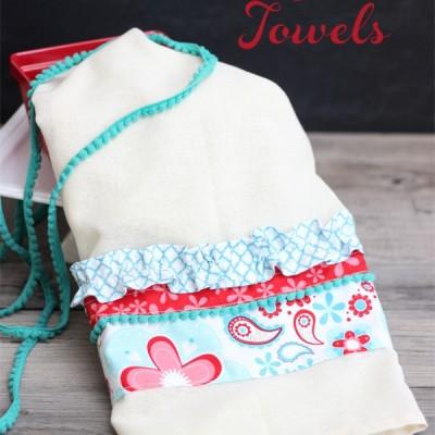 Summer Inspired Flour Sack Towel