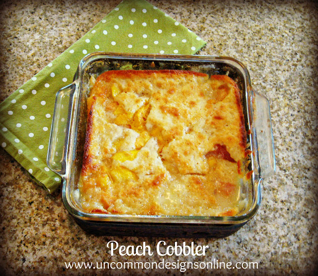 The Easiest Ever Peach Cobbler Recipe