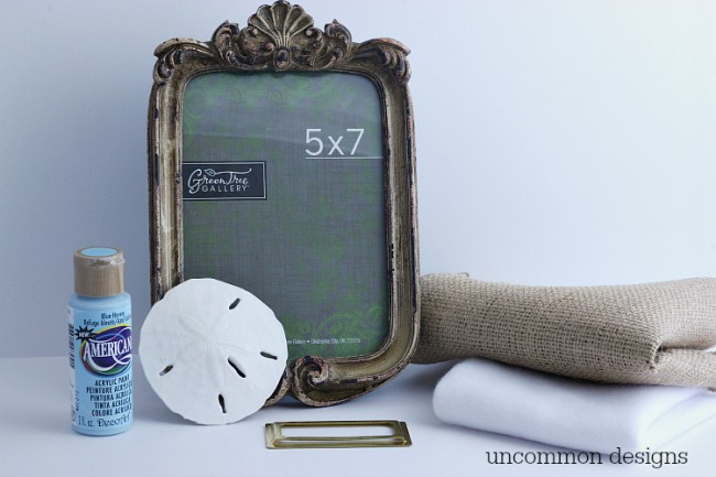 Don't pack those vacation mementos away... frame them and enjoy them all year round! via Uncommon Designs