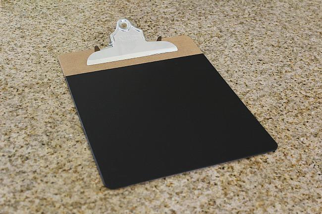 Chalkboard Clipboards