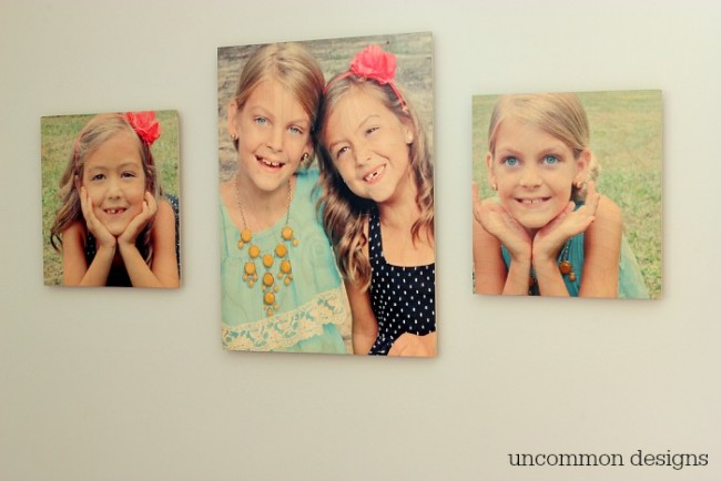 Create the Easiest Gallery Wall Ever! via Uncommon Designs