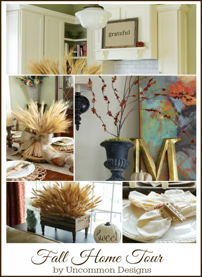 Fall Home Tour from Uncommon Designs