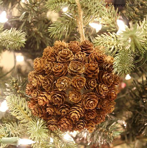 pine-cone-christmas -ornament-uncommon-designs