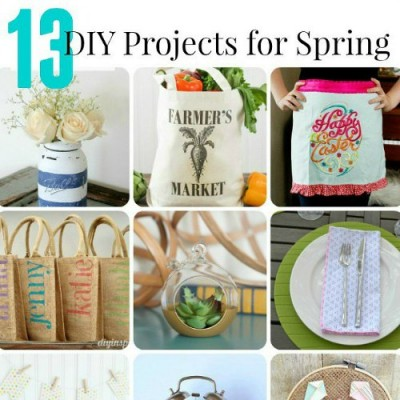 DIY Projects for Spring   Monday Funday