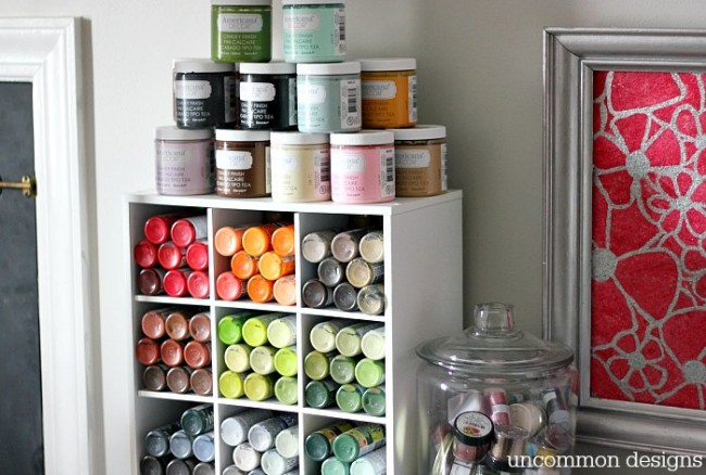 craft paint storage 1