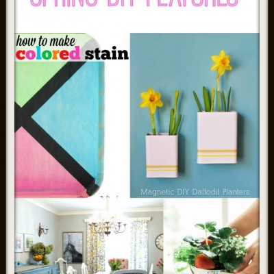 Spring DIY Projects  Monday Funday