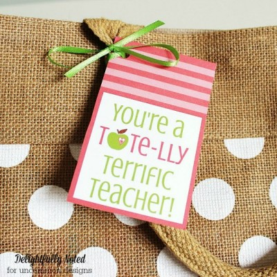 Teacher Appreciation Gift Printables