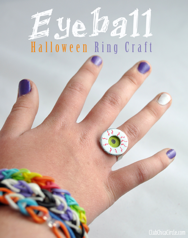 Eyeball Ring from Club Chica Circle