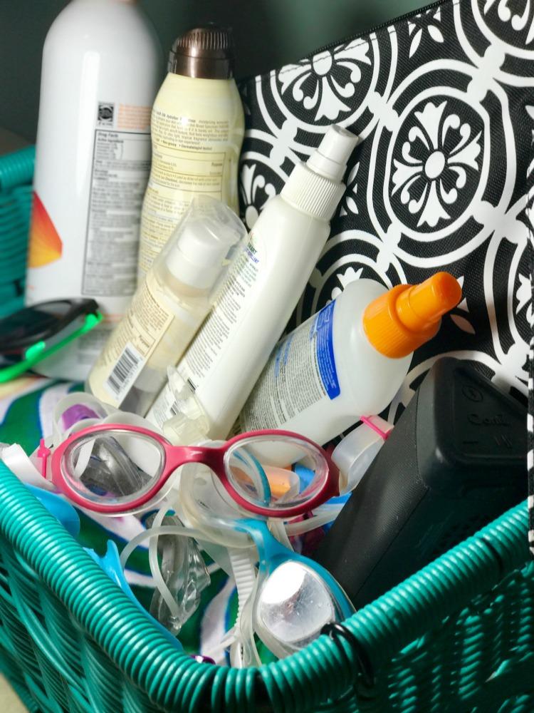 Summer Essentials Organization 3