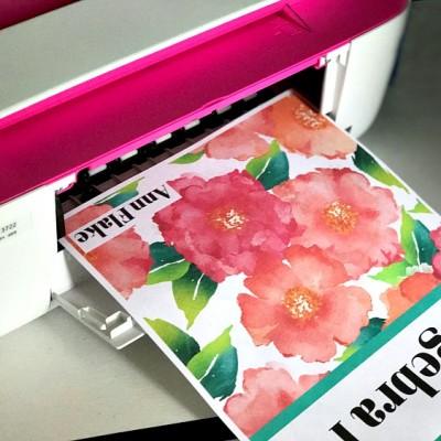12 Preppy Free Printable Binder Covers