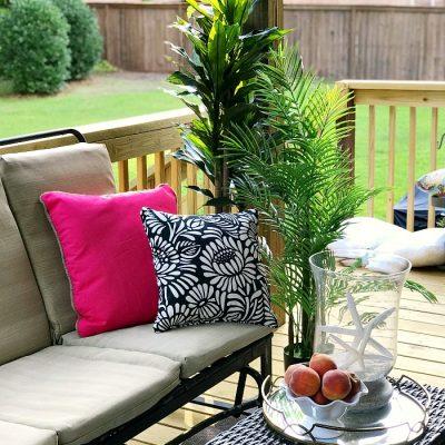 A Vibrant Summer Porch