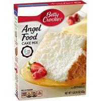 Betty Crocker Baking Mix, Super Moist Fat Free Cake Mix, Angel Food, 16 Oz Box