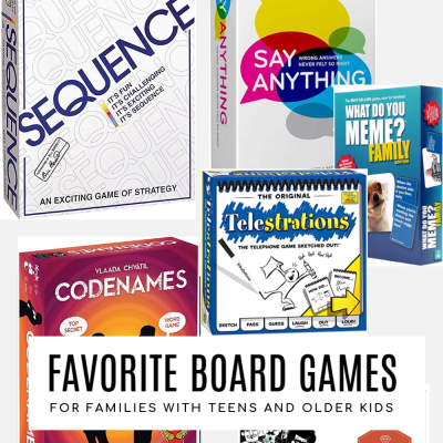 Favorite Board Games for Older Kids and Teens
