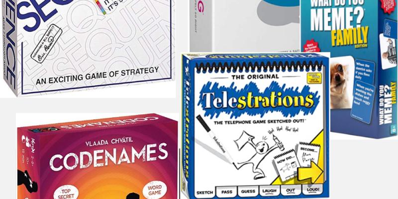 Favorite board games for teens and older kids!