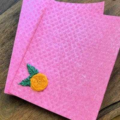 Embroidered Swedish Dishcloths